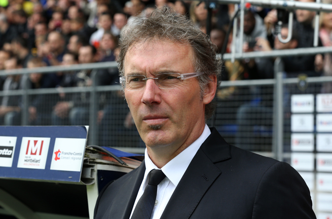 Laurent Blanc says he will sign a new contract with PSG once the club clinches the Ligue 1 championship.