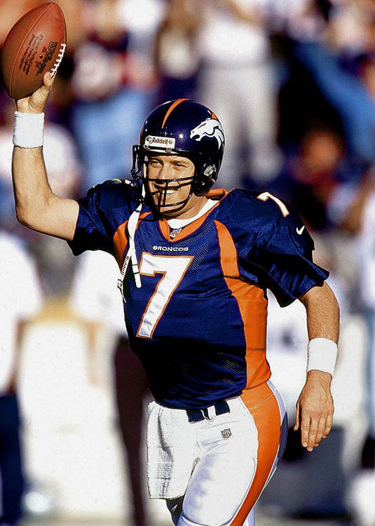 "Elway's trademark was the fourth-quarter comeback and his most famous was ""The Drive"" in the 1986 AFC title game, when he marched his Broncos 98 yards in Cleveland to force overtime. In the course of his 16-year career, Elway matured from rawly talented escape artist to field general. And while his two Super Bowl wins came with great supporting casts, he provided the signature moment of those wins. To purchase Any Given Number, go to SI.com/anygivennumber."