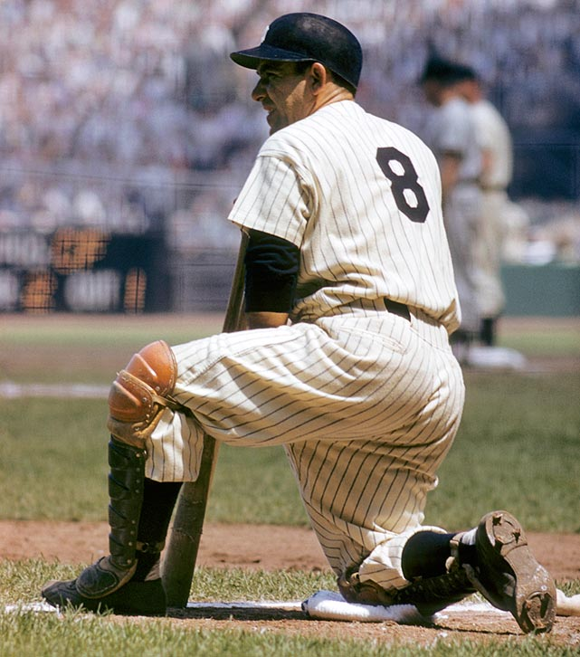 The heart and soul of the Yankees dynasties of the '50s, Yogi Berra won three MVP awards and had a seven-year stretch during which he never finished lower than fourth in the voting. When Don Larsen threw his perfect game in the '56 World Series, who do you think was behind the plate? That game was an aberration for Larsen, who otherwise had a middling career, but it was right on track for Berra, who was on the receiving end of 173 shutouts. He was also a fixture in the Fall Classic: Berra won 10 World Series rings, the most of any player in baseball history. To purchase Any Given Number, go to SI.com/anygivennumber.