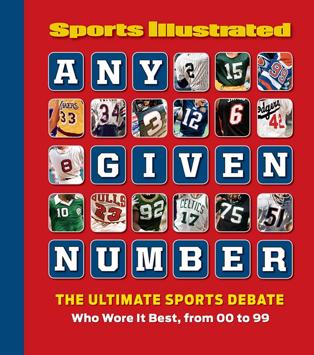 Every number tells a story in <italics>Sports Illustrated</italics>'s newly published <bold>ANY GIVEN NUMBER</bold>. The striking, photo-driven book, SI takes a comprehensive look at jersey numbers 00 to 99, across all sports and eras, to decide which elite pro athlete wore each digit best. This gallery provides a sample of SI's best players to wear numbers 00 to 10. For a more in-depth look at the debate over these picks, along with who was chosen for Nos. 11-99, and why, grab a copy at your nearest book store or go to SI.com/anygivennumber.