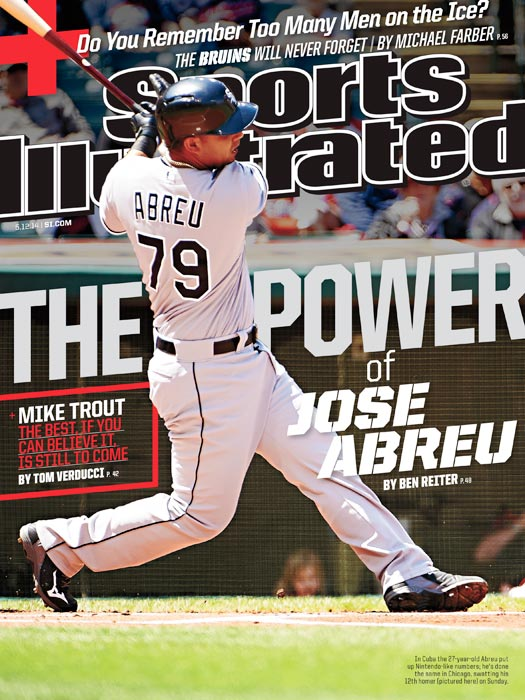 Jose Abreu, whose power has already made him a force to be reckoned with in the majors, landed SI's regional cover this week.