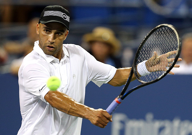 Former tennis player James Blake rents out his Tampa house, and was not present when it caught fire.