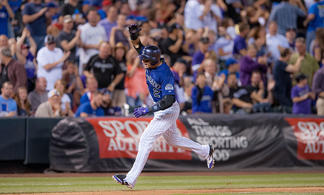 Troy Tulowitzki leads the major leagues in several major offensive categories, most by huge margins.