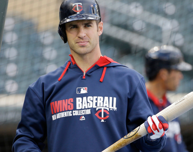 Joe Mauer has missed four straight games with back spasms and could be headed for the DL.