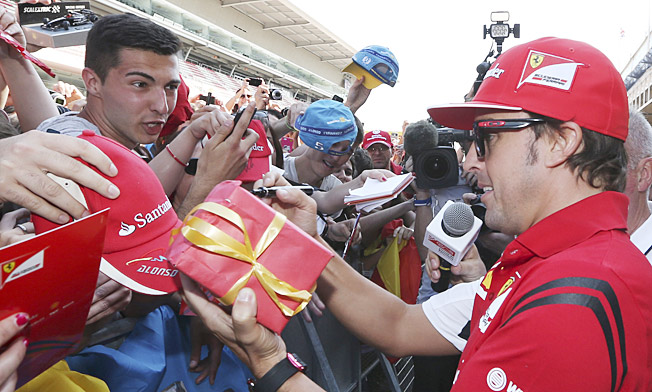 Fernando Alonso says struggling Ferrari's upgrade package is nothing special.
