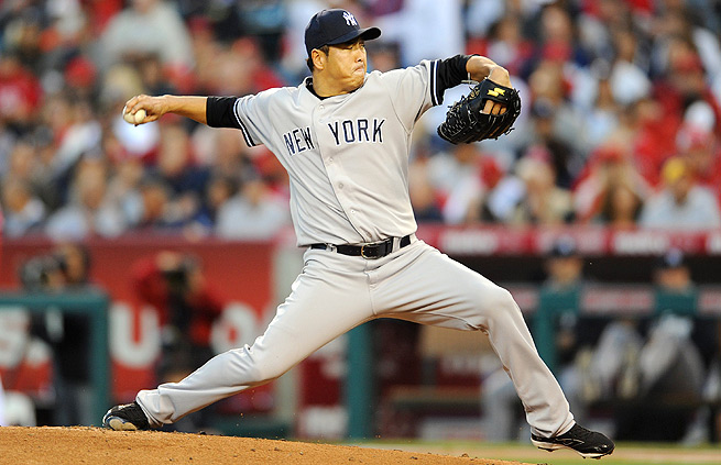 Hiroki Kuroda, who has a 4.43 ERA this year, throws more splitters than any other pitcher in baseball.