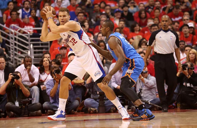 The matchup between Blake Griffin and Serge Ibaka could decide the Thunder-Clippers series.