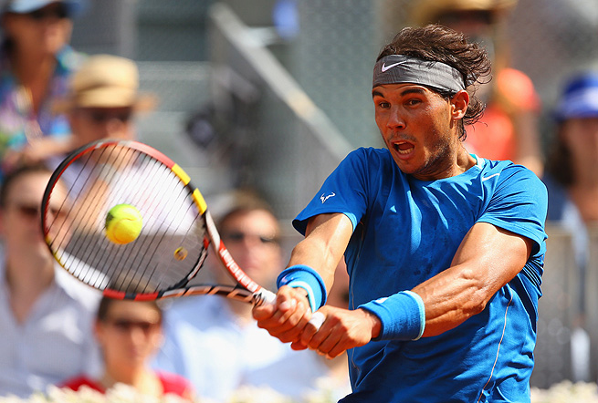Rafael Nadal reached his first clay final since winning in Rio de Janeiro in February.