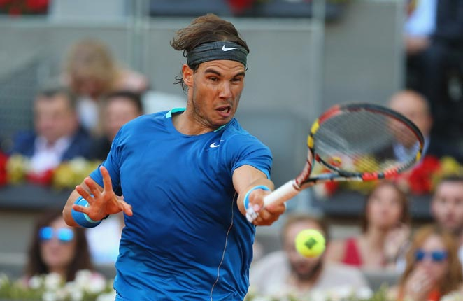 Rafael Nadal captured his fourth Madrid Open title thanks to Nishikori's withdrawal.