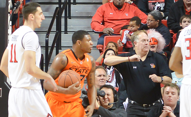 Marcus Smart knows that his biggest test in draft preparation will be in interviews, especially when he's asked about the incident with Jeff Orr (right).