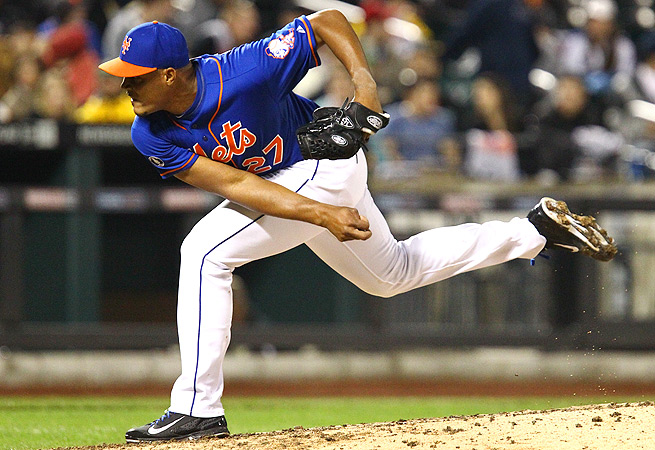 Jeurys Familia has been one of the Mets' most stable relievers this season, lowering his ERA to 3.12.