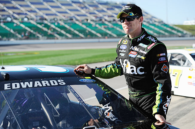 As NASCAR's top available free agent driver, Carl Edwards is a natural subject of speculation.