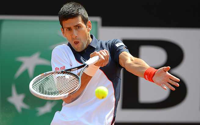 Novak Djokovic hasn't played since he lost in the semis of the Monte Carlo Masters to Roger Federer.