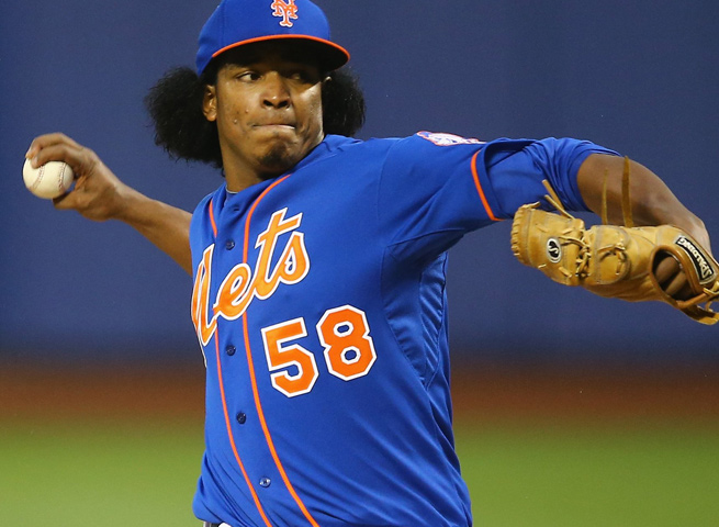 Jenrry Mejia lasted seven starts in the Mets' rotation, but is now part of the team's bullpen instead.