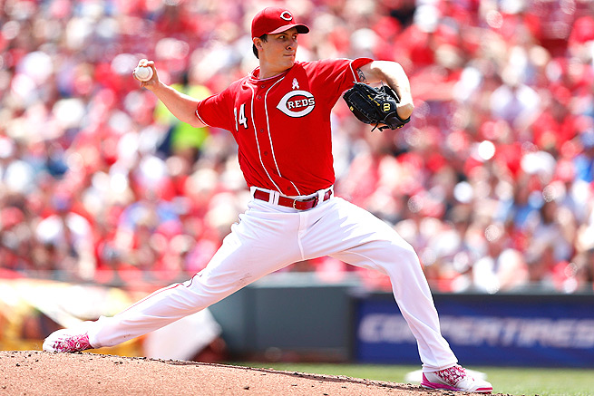Homer Bailey lowered his inflated ERA to 4.72 after a strong outing against the Rockies on May 11.