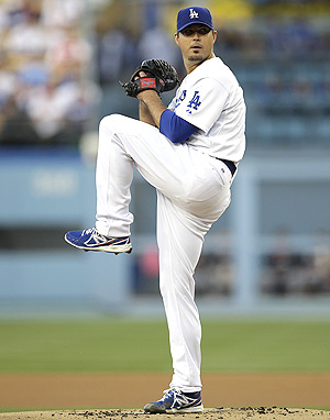 Josh Beckett earned a quality start and his first win of the season for his fantasy owners.