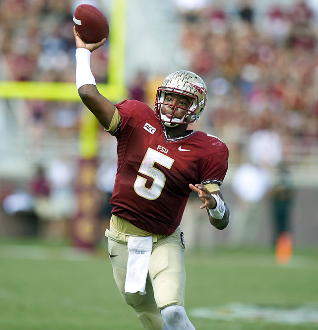 In 2012, we had Andrew Luck and Robert Griffin III. This year, it was the Blake Bortles-Teddy Bridgewater-Johnny Manziel debate. Next May (or whichever month the draft occurs in): Winston versus Marcus Mariota. The biggest challenge for the Heisman-winning Winston between now and then ? one he has not come close to succeeding at thus far ? will be staying out of trouble.