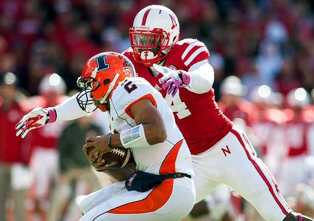 Gregory ultimately may wind as a top-five candidate if he can repeat 2014 (16 tackles-for-loss, 9.5 sacks), success that occurred after a transfer in from the JUCO ranks. Nebraska lists Gregory's weight at 245; he's between 230 and 255 elsewhere. So, he may fall into that hybrid-rush category ? meaning he may not fit everywhere. Gregory also has ample room to develop a rather raw game.