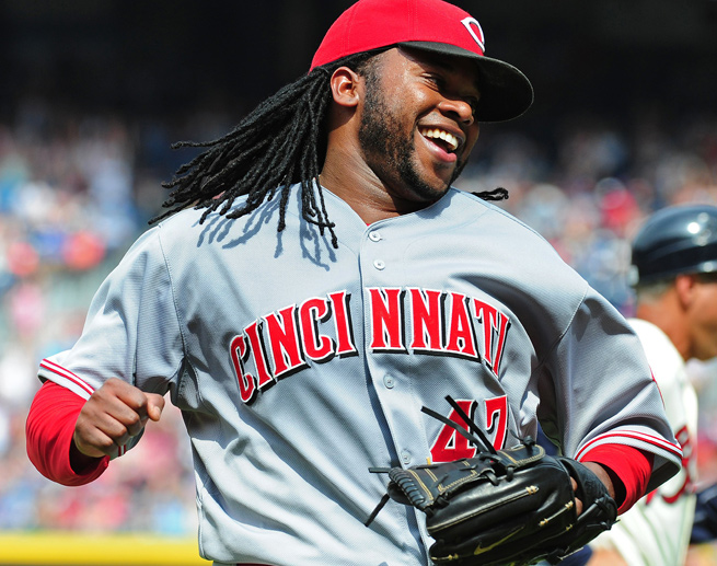 No qualified starter in baseball has a better ERA than Johnny Cueto, who is at 1.43 through eight starts.