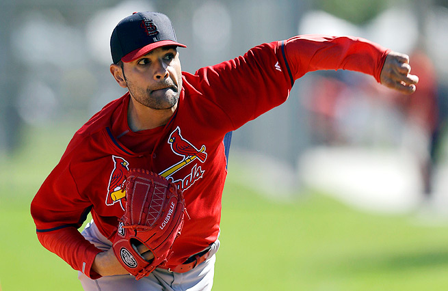 Cardinals' Jaime Garcia is scheduled to make his first start in a year after suffering a torn labrum.