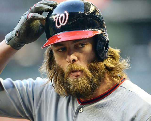 For what it's werth, the Washington Nationals rightfielder's beard is not rented. It's all too real...as is his apparent interest in <italics>Mean Girls</italics>.
