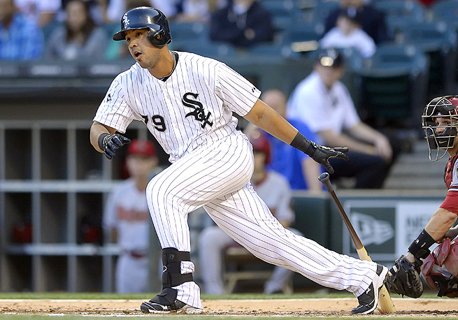 Jose Abreu has hit 15 home runs and 42 RBI, and has a .595 slugging percentage so far this year.