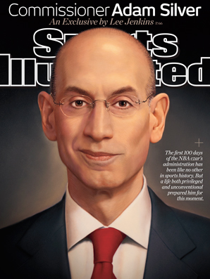 Adam Silver is featured on the May 26 cover of Sports Illustrated.