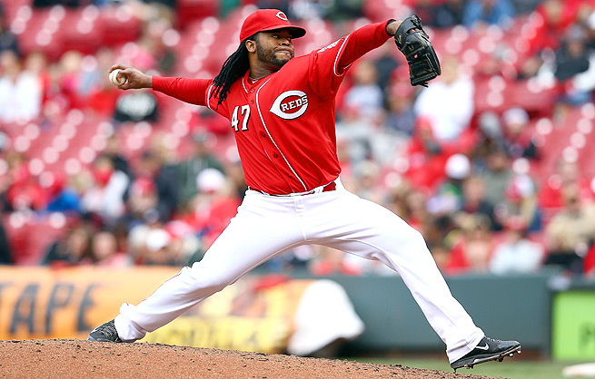 Johnny Cueto has already pitched three complete games this season -- two of which were shutouts.