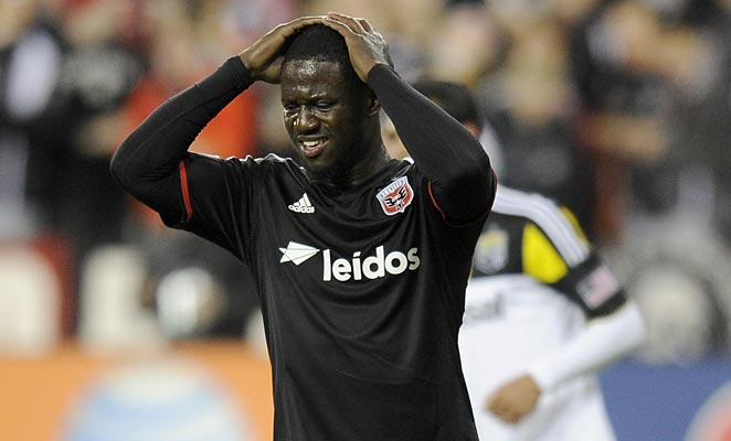Eddie Johnson was suspended by MLS for a reckless challenge on Montreal goalkeeper Troy Perkins.