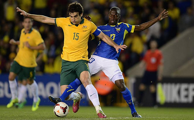 Mile Jedinak has been named Australia's captain after the exclusion of Lucas Neill from the World Cup squad.