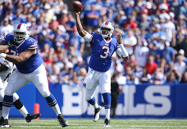 With rookie Sammy Watkins stretching the field, how high will Bills QB EJ Manuel go in fantasy drafts?