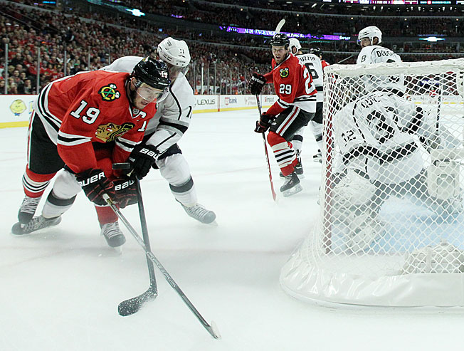 Chicago's Jonathan Toews and LA's Anze Kopitar are solid Conn Smythe Trophy candidates.