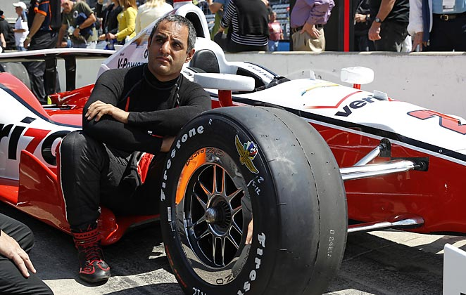 Juan Pablo Montoya returns to Indianapolis after winning the race in 2000.