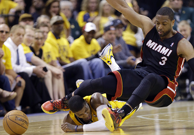Paul George needs to pass more concussion tests before being cleared for Game 3 against the Heat.