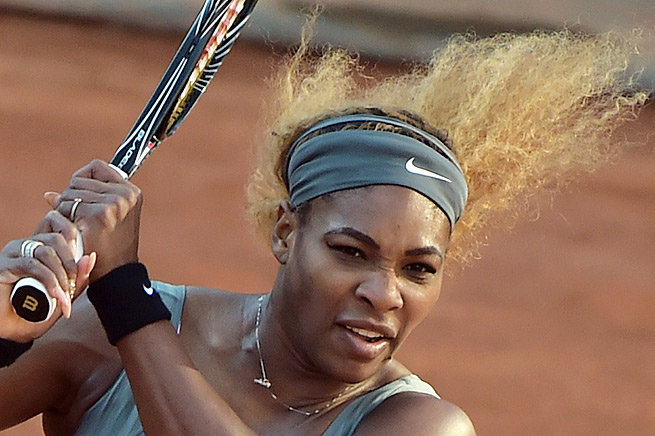 No. 1 Serena Williams is seeking to win her second French Open title in a row and third overall.