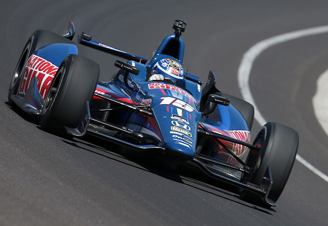 Graham Rahal, whose father Bobby won the Indianapolis 500 in 1986, finished third in 2011.