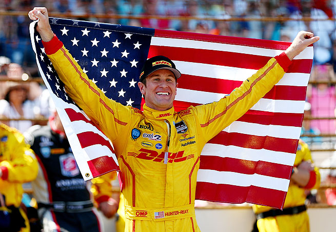 Ryan Hunter-Reay became the first American to win the Indianapolis 500 since Sam Hornish Jr.