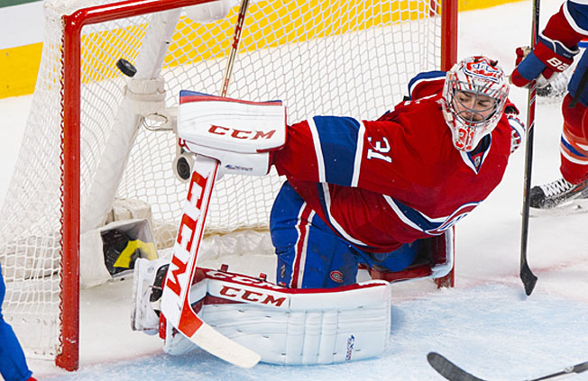 Down three games to one to New York, the Canadiens would surely welcome Carey Price's return.