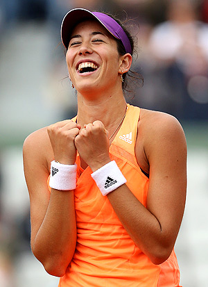 Garbine Muguruza let Serena Williams win only four games the entire second-round match.