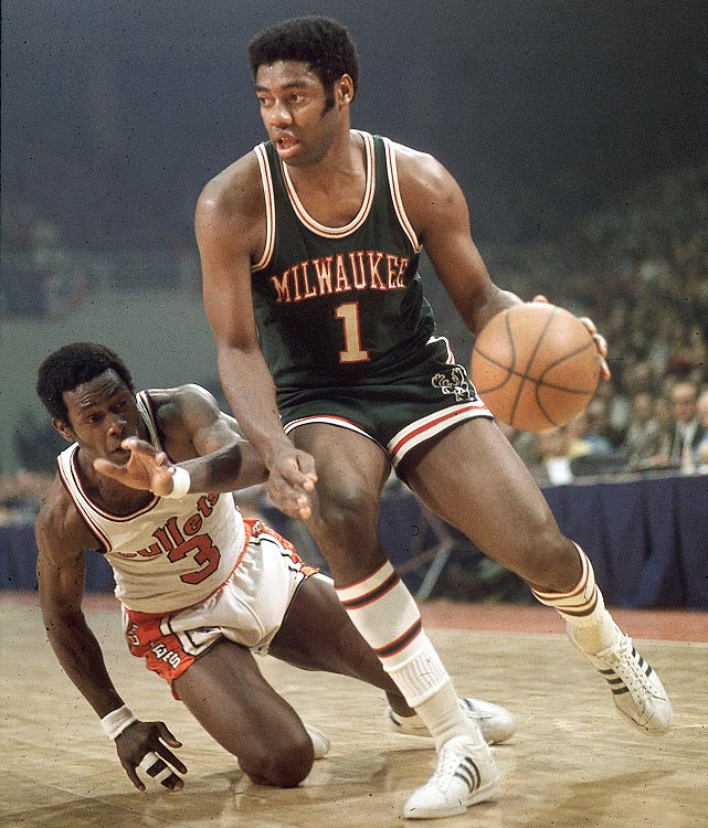Oscar Robertson led Milwaukee on a 4-0 sweep of Baltimore in his first season joining up with Lew Alcindor and the Bucks. Robertson had 30 points in the series-clincher.