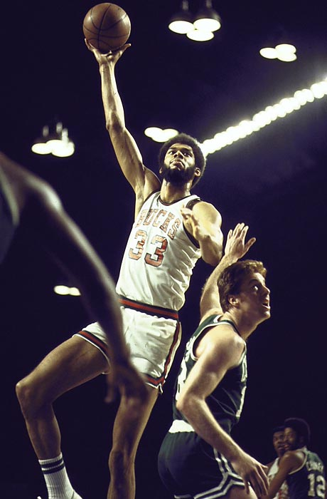 Kareem Abdul-Jabbar paced the Bucks, averaging 32.6 points per game and deploying his signature sky hook to seal Game 6, but the Celtics would pull it out in a seventh game.