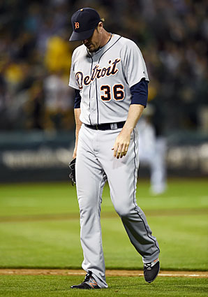 Tigers closer Joe Nathan blew his fourth save of the season in Wednesday's loss to the A's.