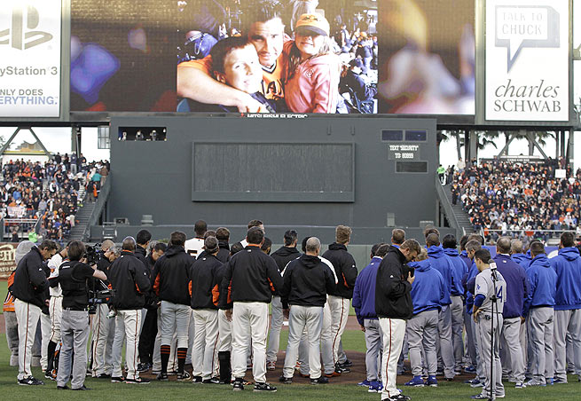 The civil case against the Dodgers for the ballpark beating of Giants fan Bryan Stow is underway.