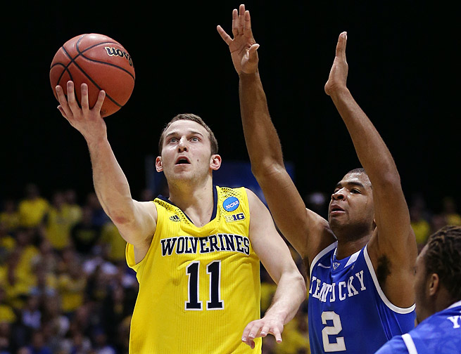 Nik Stauskas averaged 17.5 points, 2.9 rebounds and 3.3 assists as a sophomore last season.