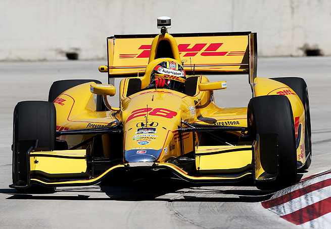 Ryan Hunter-Reay enters this weekend's doubleheader in Detroit as the IndyCar points leader after winning his first Indy 500.