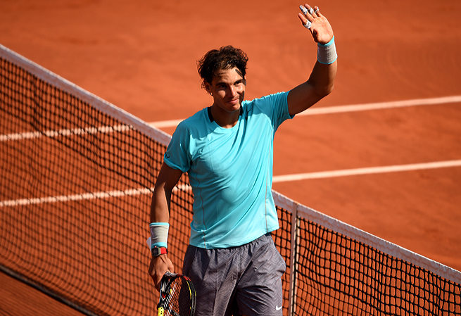 Rafael Nadal has extended his winning streak at Roland Garros to 31 matches.