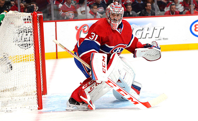 Carey Price was injured in Game 1 of the Eastern Conference final against the New York Rangers.