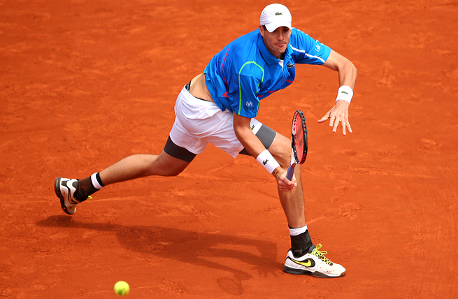 John Isner was the only American man to make the fourth round at the French Open.