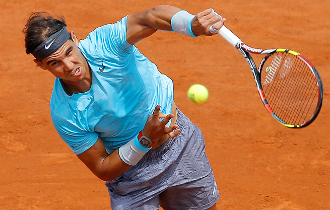 Rafael Nadal, who beat David Ferrer in 2013 French Open final, hasn't dropped a set yet this year.