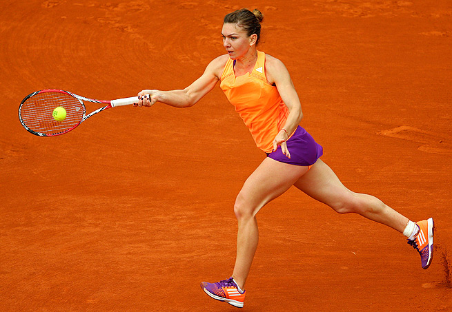 Simona Halep has never advanced past the second round at the French Open until this year.